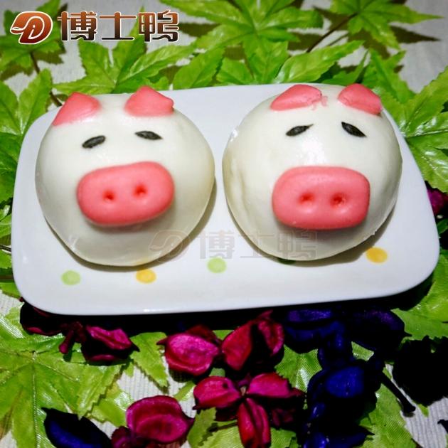 芋泥萌豬包 1