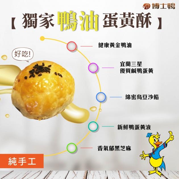 鴨油蛋黃酥-鞠樂禮盒 3