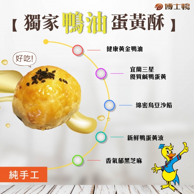 鴨油蛋黃酥-花開富貴禮盒 3